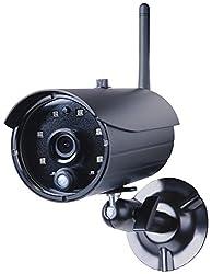 Smartwares 720P HD Plug und Play WiFi Netzwerk-Kamera mit SD-Kartenslot Aufnahmefunktion, IP66 geschützt, C935IP