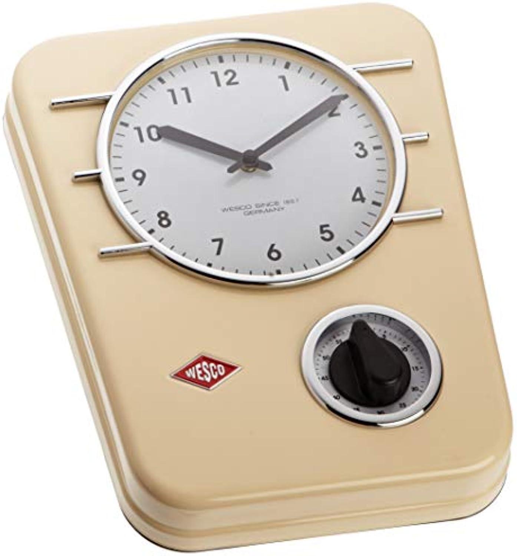 Wesco 322 401-23 Küchenuhr Classic Line Mandel