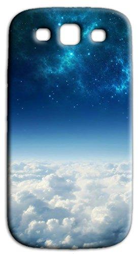 Mixroom - Cover Custodia Case in TPU Silicone Morbida per Samsung Galaxy Grand Neo I9060 (Plus) Q244 Universo Cielo