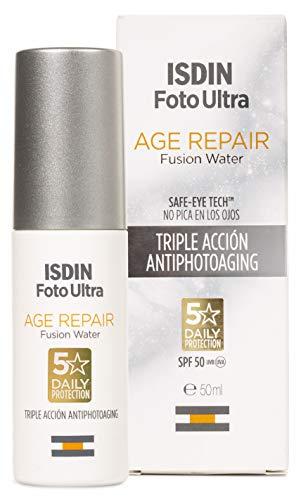 ISDIN FotoUltra Age repair FW SPF50 Protector solar facial de uso diario, 50ml