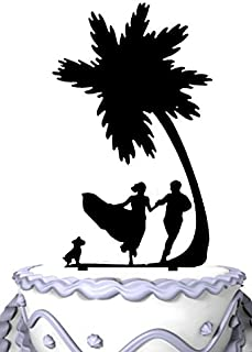 Best palm tree beach wedding cake topper Reviews