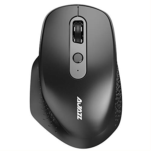 Mouse, Entweg i660T Multimode Rechargeable Mouse BT4.0 2.4G Wireless USB Optical Mouse Replacement for Mac Notebook Desktop Black
