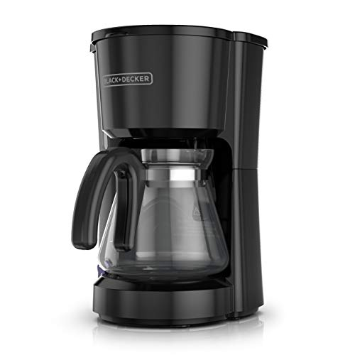 BLACK+DECKER 5-Cup Coffee Maker, Compact Design