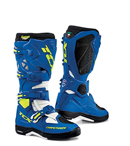 TCX 9662 Comp Evo 2 Michelin Motocross Laarzen 48 Blauw Wit (UK 13)