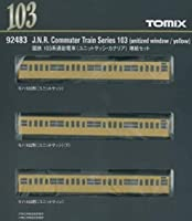 TOMIX 92483 Nゲージ 103系 ユニットサッシ カナリア 増結セット