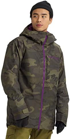 Burton Mens Gore Tex Radial Jacket Worn Camo Medium product image
