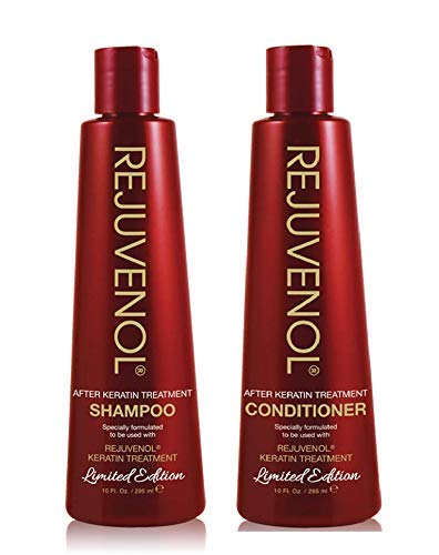 Rejuvenol Keratin After Treatment Shampoo 10oz & Conditioner 10oz DUO Set