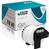 specmark 1 rollo de etiquetas continuas para Brother DK-22606, 62 mm x 15,24 m, compatible con todas las impresoras de etiquetas QL QL-570, QL-700, QL-800