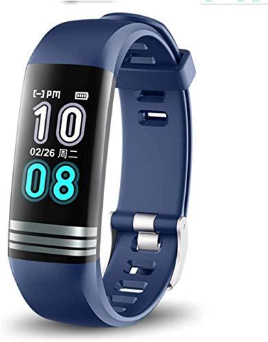 hwbq Monitor de sueño, monitor de actividad física, reloj inteligente con pantalla táctil, Bluetooth, contador de calorías, resistente al agua