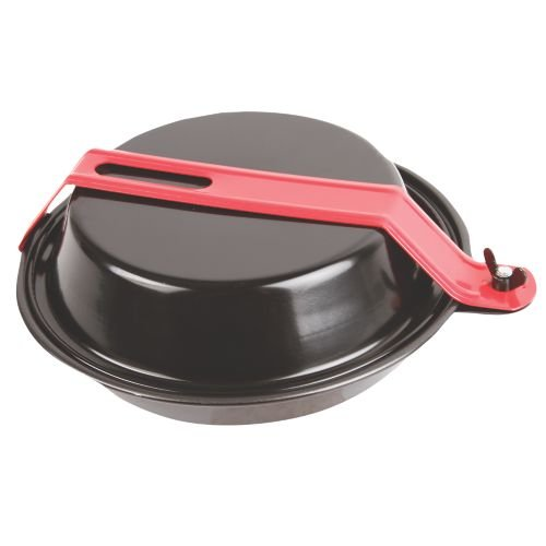 Coleman Rugged 1-Person Mess Kit , Red & Black