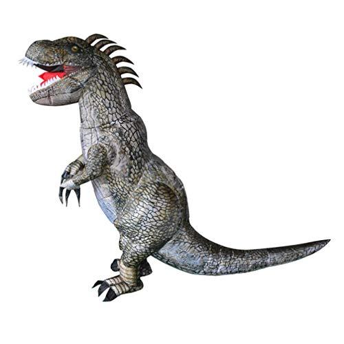 GOHHK Disfraz Inflable de Halloween, Disfraz de Dinosaurio Inflable, Disfraces de Animales explosivos, Disfraz de Cosplay para nios, Halloweens