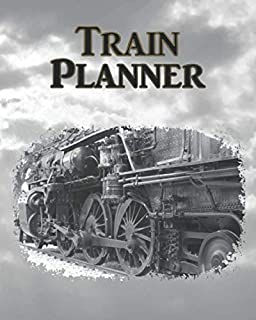 Train Planner: 1st Quarter Daily (Plus Weekly & Monthly) Calendar Journal