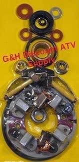 QUALITY Four Brush Starter Rebuild Plates Kit Set for 1986-1988 Honda TRX 200SX Fourtrax