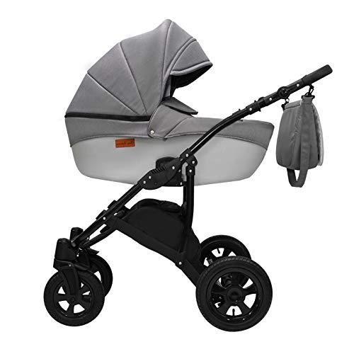 Kinderwagen 2in1 3in1 Isofix Buggy Autositz Premium Avinion by Ferriley & Fitz Chocolate 13 2in1 ohne Babyschale