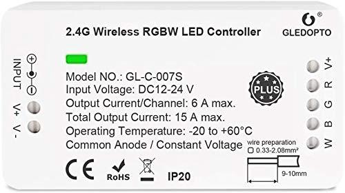Zigbee RGBW Controller LED Smart Controller DC12-24V zigbee Led strip light controller