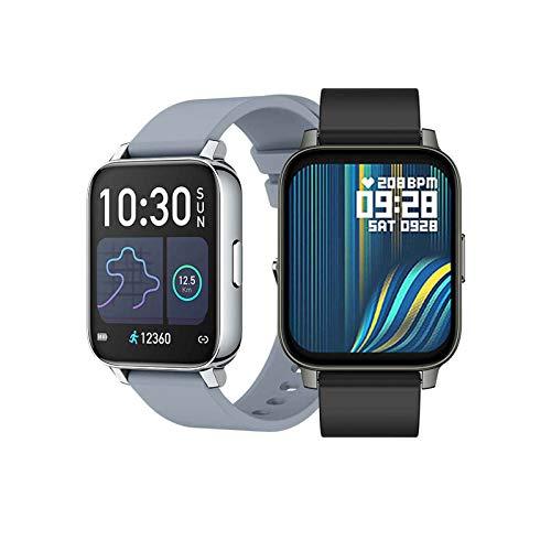 XQTEI 1.69 Reloj Inteligente de Pantalla Grande, función de podómetro, monitoreo de Salud, monitoreo de frecuencia cardíaca, recordatorio de Llamada, Pulsera de diseño Impermeable