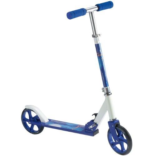4Uniq 18605 Alu Scooter 200er blau Weiss