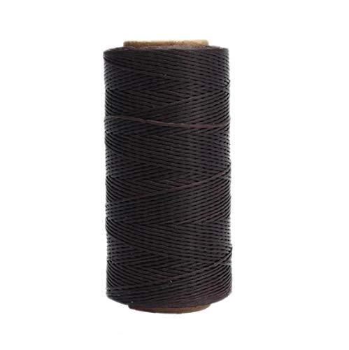 TOPofly Encerado Coser Hilo de Costura del cordón de Cuero de DIY de Coser alfombras