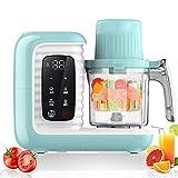 HBIAO Robot De Cuisine pour Bébé, Nouveau processeur Multifonctionnel de Nourriture d'enfants, mélangeur Chaud de Cuisine de Nourriture Chaude de bébé de Lait de bébé