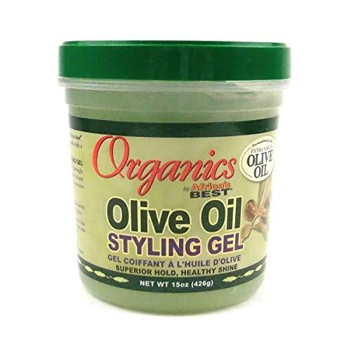 Africa's Best Organic Olive Oil Styling Gel 445 ml Jar