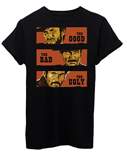 iMage T-Shirt Il Buono Il Brutto Il Cattivo-Film - by Uomo-L-Nera