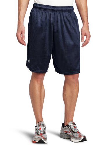 Russell Athletic Men's Mesh Short with Pockets, Navy, X-Large