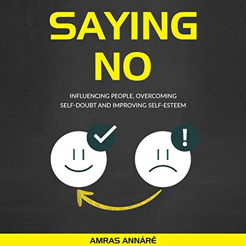 Saying NO audiobook cover art