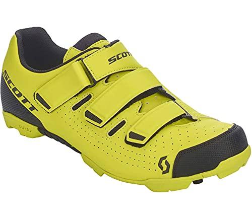 Scott MTB Comp RS 2022 - Zapatillas de ciclismo, color amarillo y negro
