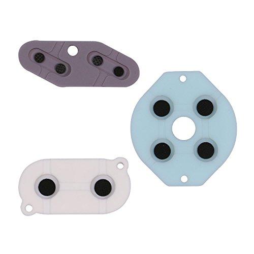 Timorn Rubber Conductive Adhesive für Game Boy GB-System Silicon Pad Ersatzteil (2 Stück)