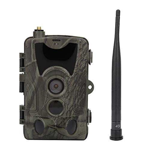Impermeable al aire libre 16MP 1080 p visión nocturna Caza Trail Cámara de vídeo con pilas 1080 p Caza Cámara