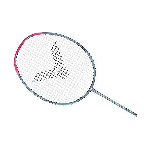 Victor Thruster K-HMR L Badminton Pre-Strung Racket (TK-HMR L)(Cinerous) 5UG5