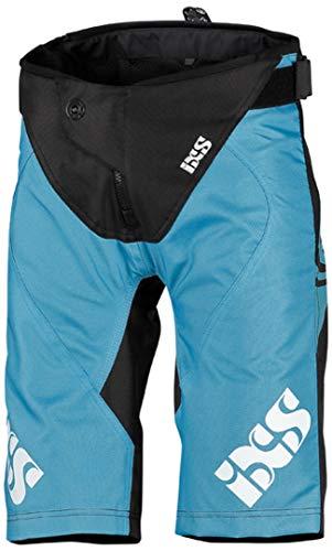 IXS Unisex-Erwachsene Race Kids Shorts Brisk Blue-Black KL (152) Hose, blau, L