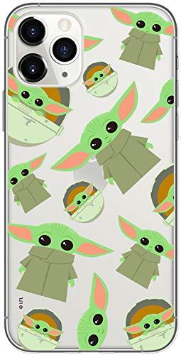 Original & Offiziell Lizenziertes Star Wars Baby Yoda Handyhülle für iPhone 11 PRO MAX, Hülle, Hülle, Cover aus Kunststoff TPU-Silikon, schützt vor Stößen & Kratzern
