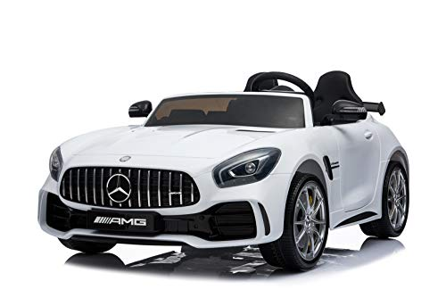 First Drive Mercedes Benz GTR White 2 Seater