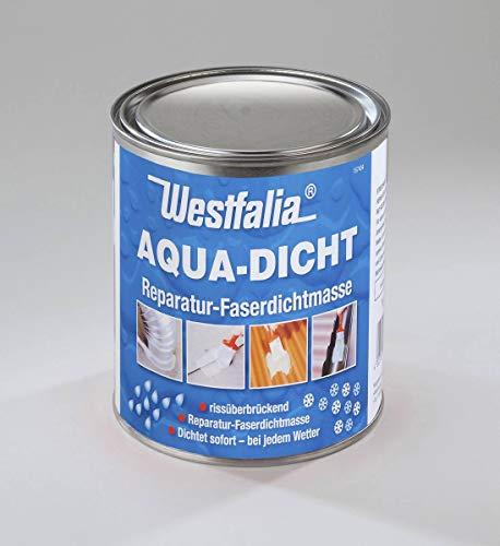 Westfalia Aqua Dicht - transparente Abdichtmasse faserverstärkt 1 L Dose