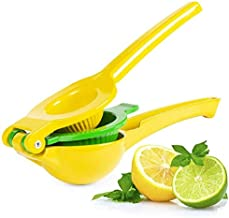 Top Rated Premium Quality Metal Lemon Lime Squeezer - Manual Citrus Press Juicer