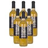 Valhalla Hidromiel Caja de 6 Botellas de Hidromiel Tradicional | Bebida Ecológica, Aroma Afrutado, Sabor Semi-seco, Botellas de 75 cl