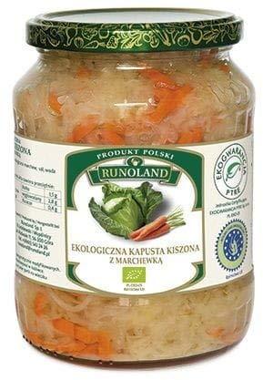 Chucrut con zanahorias BIO 700 g (500g) - RUNOLAND