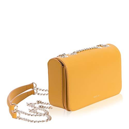 INYATI Damen Handtasche Belle mango, Grössen:one, Farben:805 Mango