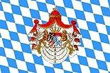 U24 Fahne Flagge Königreich Bayern 90 x 150 cm