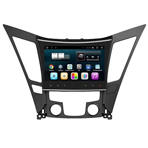 Pièces d'auto d'Android 7.1 de Noyau de Quadruple de TOPNAVI 9inch pour Hyundai Sonata 2011 2012 2013 2014 2014 Navigation de Voiture de Radio de stéréo de Voiture GPS avec 16GB