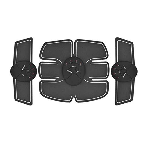 SISHUINIANHUA Smart EMS Hips Trainer Elektrischer Muskelstimulator Drahtlose Gesäß Bauch ABS Stimulator Fitness Körper Abnehmen Massagegerät,1