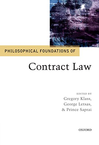Philosophical Foundations of Contract Law (Philosophical Foundations of Law) (English Edition)