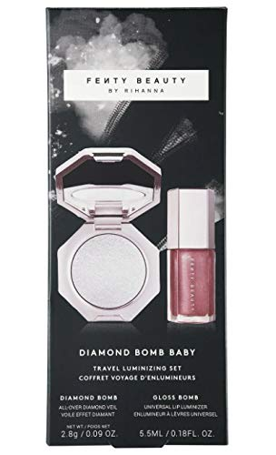 Fenty Beauty DIAMOND BOMB BABY MINI FACE AND LIP SET