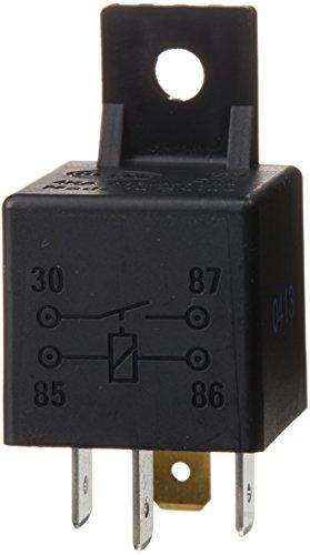HELLA 4RA 965 400-001 Minirelais, Arbeitsstromrelais, 12 V, 4-polig, Spulenwiderstand: 90 Ohm, Halter: ja