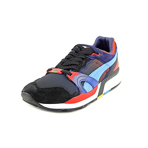PUMA Trinomic XT2 X Whiz LTD Men Sneakers Black/High Risk Red 357341-02 (Size: 10.5)