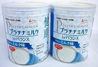 【2缶】雪印 プラチナミルクfor バランス やさしいミルク味300gx2缶(4987493030065-2)