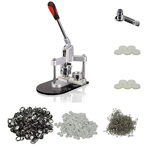 Best Bargain Dawei 1002 Tripod Badge/Button Maker Making Machine DIY Semi Manual Semi Mechanical Pro...