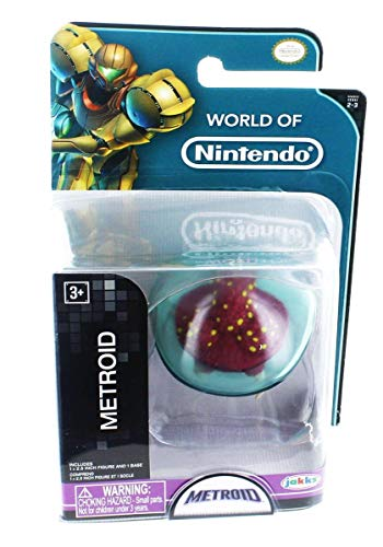 World Of Nintendo 2.5 Metroid Mini Figure by World of Nintendo