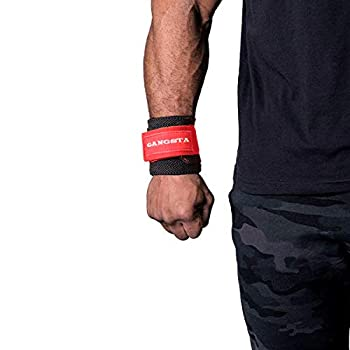 Sling Shot Mark Bell s Gangsta Flex Wrist Wraps for Weightlifting and Bodybuilding Heavy-Duty Wrist Support Wraps for Heavy Lifting